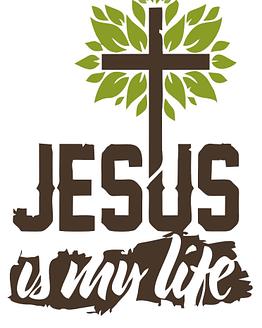 estampa camiseta evangélica Jesus is my life