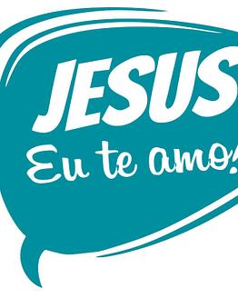 estampa camiseta evangélica Jesus eu te amo
