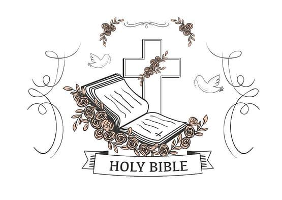 estampa camiseta evangélica Holy bible