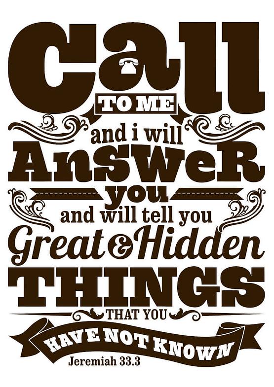 estampa camiseta evangélica call to me and I will answer you