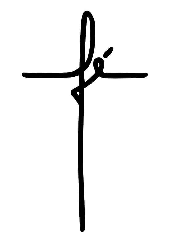 estampa camiseta evangélica fé