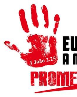 estampa camiseta evangélica Eu tenho a marca da promessa