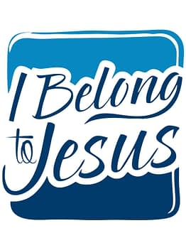 estampa camiseta evangélica I belong to Jesus