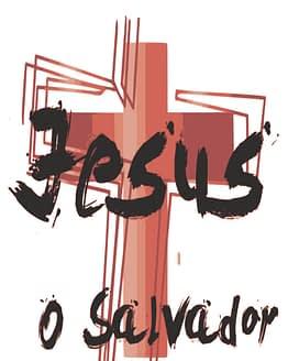 estampa camiseta evangélica Jesus o Salvador